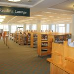 Bigger and brighter spaces can handle the 4.3 Million visits to the Denver Library.